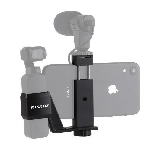 Soporte Montaje Abrazadera Para Telefono Metal Fijo Gptp