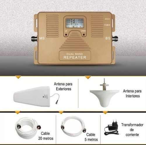 Amplificador De Señal Celular Repetidora Movistar Digitel