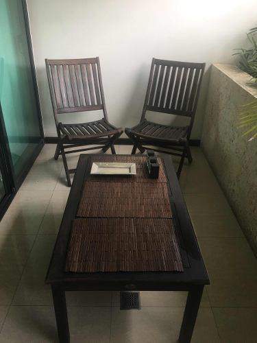 Juego De Muebles Para Jardín O Terraza / Leer Descripción.