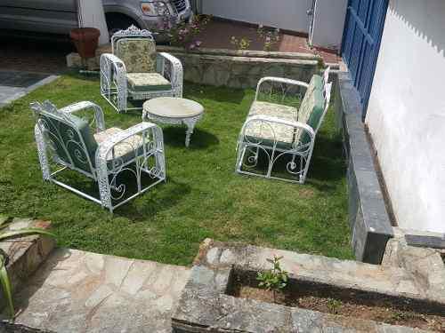 Juego De Muebles Para Jardín Tipo Mecedoras