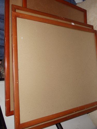 Marcos De Madera (marqueteria) Poco Detalles Con Vidrios