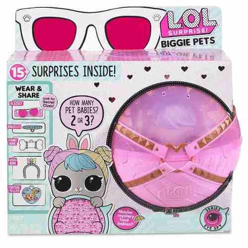 Muñecas Lol Surprise Hop Hop Biggie Pet! Original