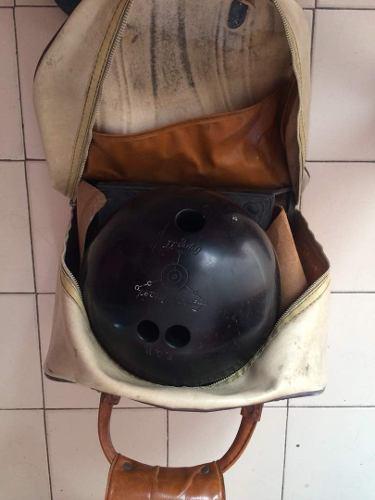 Remato Por Viaje Bola De Bowling / Boliche En Su Bolso *20$