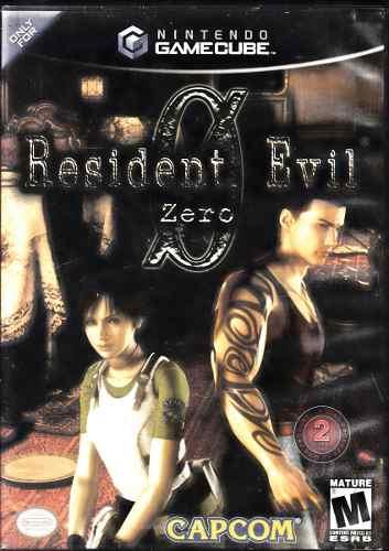 Resident Evil Zero Video Juego De Game Cube Original Usado
