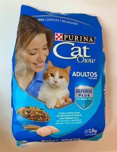 Alimento Para Gatos Gatarina Cat Chow Purina 1,5kg Adultos