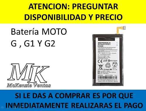 Bateria Pila Motorola Moto G G1 G2 Ed30 Xt1063 Xt1068 Xt1069