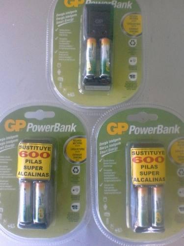 Cargador De Bateria O Pila Recargable Aaa Gp Powerband
