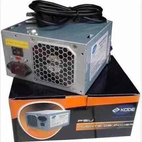 Fuente De Poder Atx 600w Kode 20/24 Pines Kd-600 Kd171 A1227