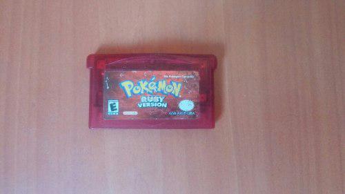Juego De Gba Pokemon Ruby Reparar