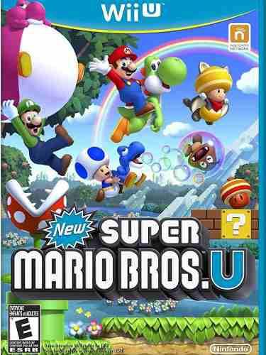 New Super Mario Bros U Para Nintendo Wii U Totalmente Nuevo