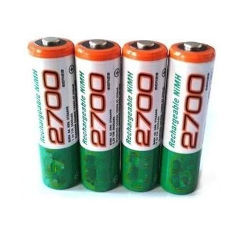 Pilas Baterias Gp Recargables Doble Aa De  Lara