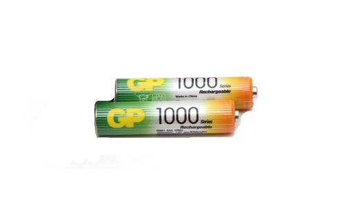 Pilas Baterias Gp Recargables Doble Aaa De  Mah El Par