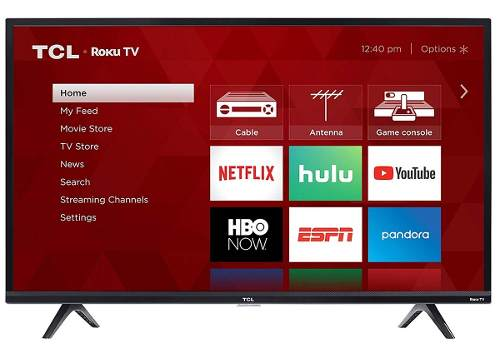 Televisor Tcl Led Hd 720p  Smart Tv Netflix Hbo Roku