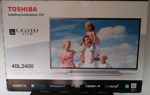 Televisor Toshiba 40 Led Slim 40l