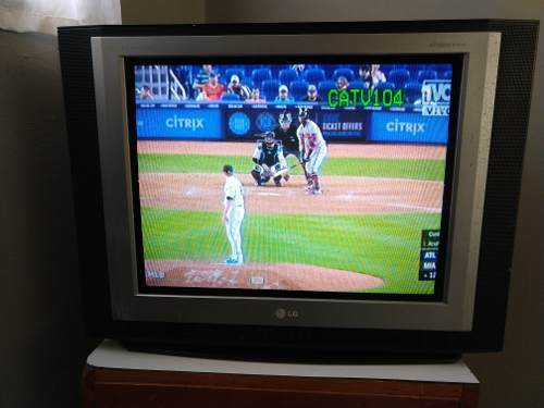 Tv Televisor Lg 21 Pulgadas Pantalla Plana Mcbo En 50 Verdes