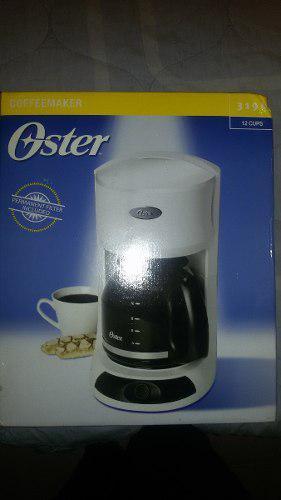 Cafetera Oster 12 Tazas Blanca Nueva Modelo 3196