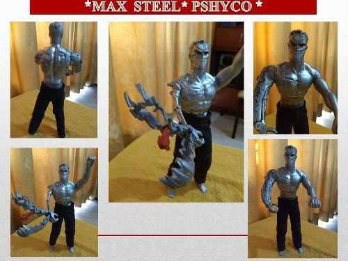 Figura De Acción Max Steel Enemigo Pshyco