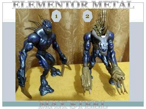 Figuras De Coleccion Max Steel - Elementor Metal