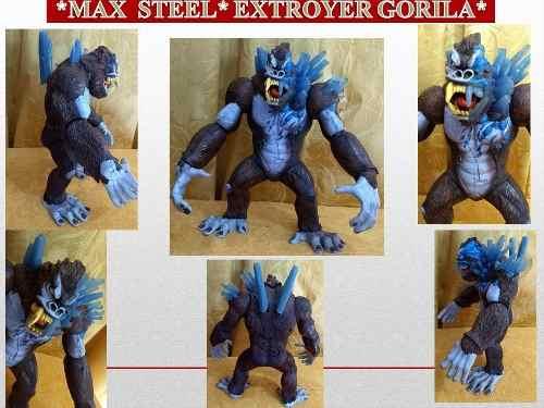 Figuras De Coleccion Max Steel Extroyer Gorila