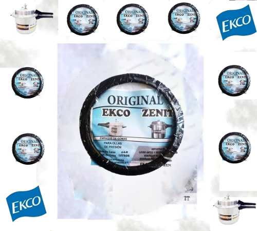 Gomas De Olla De Presión Ecko Y Zenit 4,6,8 Litros Detal