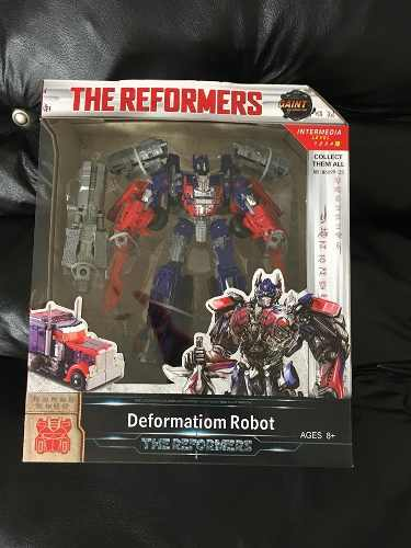 Muñeco De Accion Transformers Optimus Prime