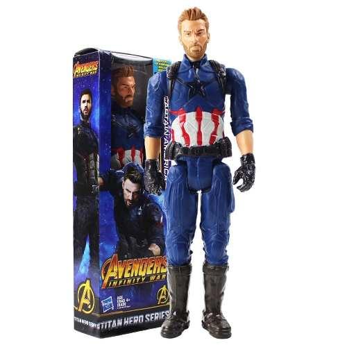 Muñeco Hasbro Capitan America Somos Tienda