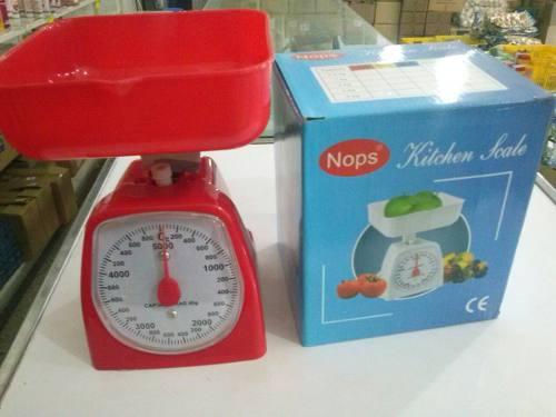 Peso Balanza Análogica De Cocina C/bandeja 5kg Marca Nops