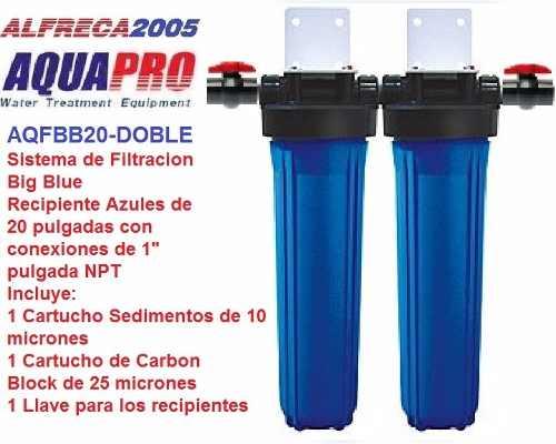 Sistema De Filtración Para El Hogar, Comercial O Industrial