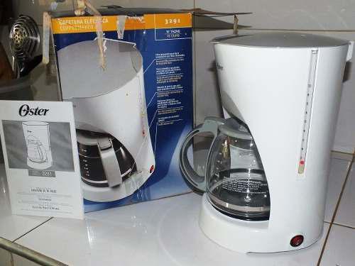 Vendo Cafetera Eléctrica Oster Con Filtro