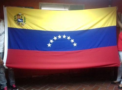 Bandera De Venezuela 1.50 X 090