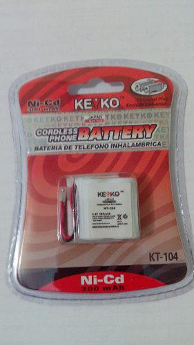 Batería Para Teléfono Inalámbrico Doble A 2.4v 300mah