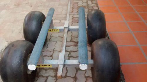 Big-foot Para Moto De Agua