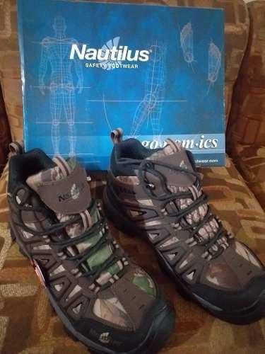 Botas De Seguridad Nautilus Camuflajeadas Talla 10.5 Med