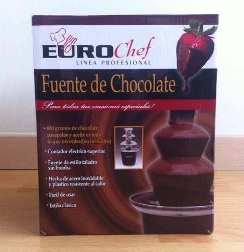 Fuente De Chocolate Eurochef Reposteria Eventos