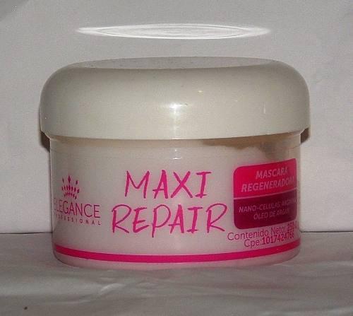 Mascarilla Capilar Reparadora Maxi Repair Elegance 250 Gr