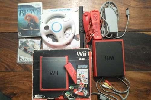 Mini Wii Original, Usado Pero En Perfecto Estado