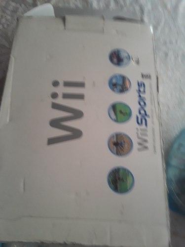 Nintendo Wii Con Todos Accesorios Y Juego