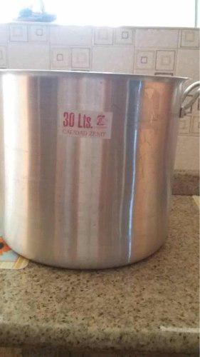 Olla Sancochera De Aluminio 30 Litros