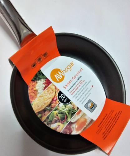 Sarten Antiadherente 20cm Premium Gourmet Awhogar
