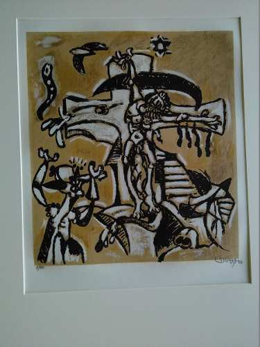 Serigrafias De Oswaldo Vigas