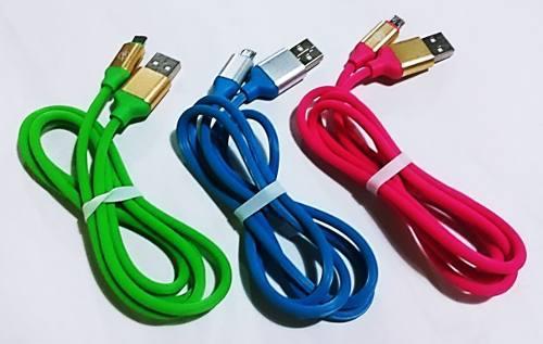 Cable Cargador Goma Samsung Blu Huawei Htc Lg Motorola