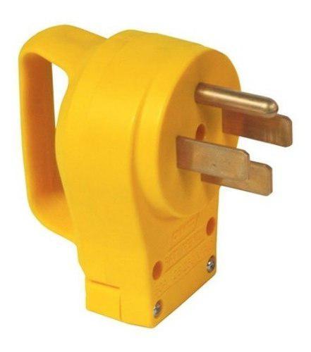 Conector 14-50r, 50amp Macho Para Plantas Eléctricas Camco