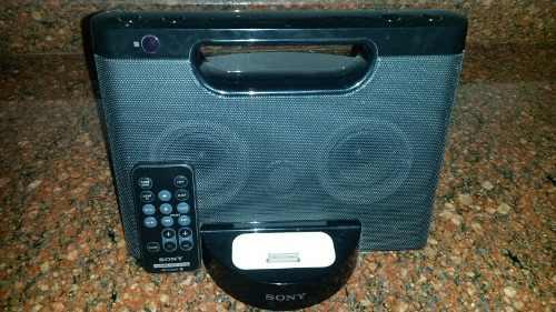 Dock Sony (cornetas) Para iPod/iPhone