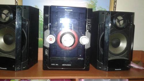 Equipo De Sonido Panasonic Modelo Sa Akx10 Perfecto Estado