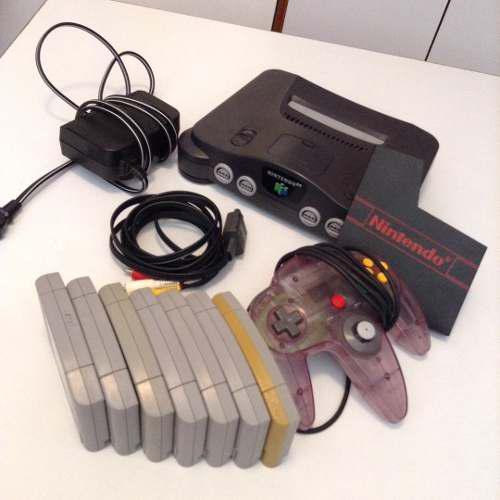 Nintendo 64 + 7 Juegos
