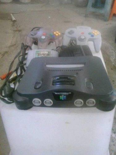 Nintendo 64 Completo Con 2 Controles 1 Juego