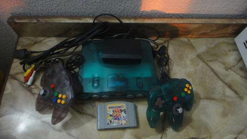 Nintendo 64 + Controles + Juego + Six Pack
