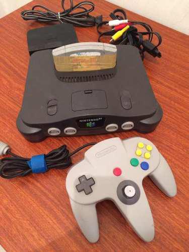Nintendo 64 Excelentes Condiciones 5 Controles 1juego Ver30