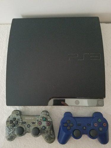 Playstation 3 160 Gb 2 Controles 7 Juegos Fisicos Y 6 Digita