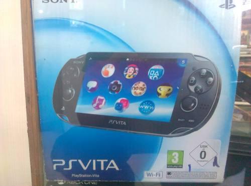 Ps Vita + Memoria De 4gb + Juegos De Regalo